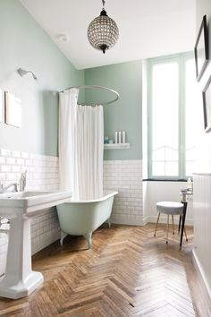 You'll fall in love with this beautiful 19th-century apartment located in the historic centre of Bordeaux, France. With intricate molding, herringbone wood floors, and natural light, there is beauty around every corner.