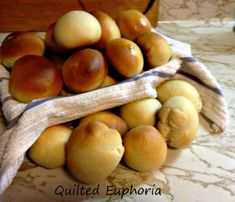 Homemade Dinner Rolls Recipe - The Crafty Blog Stalker