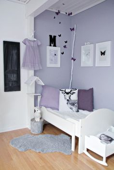 trendy Ideas for baby girl room colors scheme pastel Lavender Room, Lilac Room, Lavender Colour, Lavender Decor, Cool Kids Rooms, Purple Rooms, Deco Design, Design Design, Little Girl Rooms