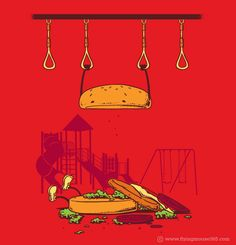No Hanging For Hamburger by Flying Mouse