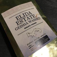 Geisha coffee from Panama : gracias   I remember I saw Gesha chocolate in Helsinki