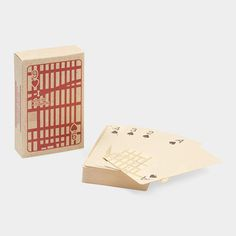 MUJI New York Playing Cards