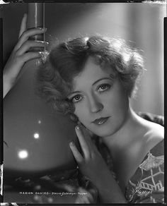 Marion Davies - Photo by George Hurrell from It's a Wise Child and Five and Ten