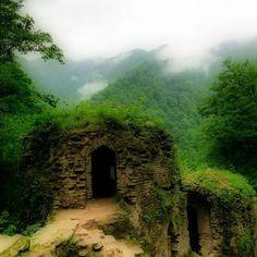 Ghakerodkhaan, Antient castle in the north of Iran, Guilan.