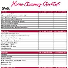 Wedding Photography Checklist template Wedding photographer | Etsy Weekly Cleaning Checklist, Household Cleaning Tips, Cleaning Hacks, Wedding Checklist Template, Family Chore Charts, Professional House Cleaning, Wedding Photography Checklist, Clean House, Wedding Wishes