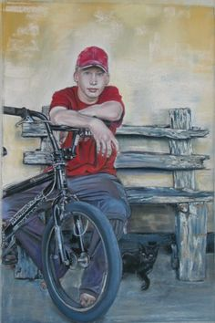 Home - WetCanvas: Online Living for Artists Bicycles, Sons, Artwork, Artist, Painting, Work Of Art, Painting Art, Bike, My Son