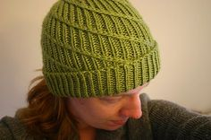Because normal ribbed hats are boring.