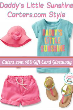 Don't Miss Spring Style at Carter's & $50 Gift Card #Giveaway! #CartersSpringStyle #ad #sweepstakes
