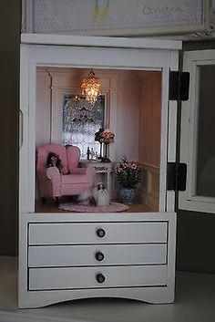 Jewelry Box Roombox Dollhouses 1 12 Scale | eBay