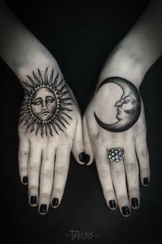 sun and moon by Alex Tabuns