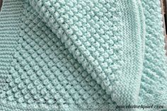 Free Pattern: Popcorn Baby Blanket By Laura