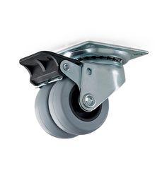 Møbelhjul dobbel med plate og brems    Habo Norge Pruning Shears, Can Opener, Garden Tools, Plates, Canning, Bremen, Licence Plates, Dishes, Griddles