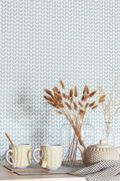 Simplicity wallpaper design from the Caselio Hygge wallpaper collection.
