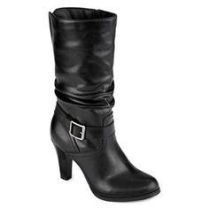 Arizona black heel boots Arizona black heel boots BRAND NEW. Never worn. Arizona Jean Company Shoes