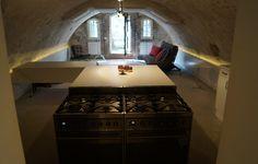 Kitchen&living room