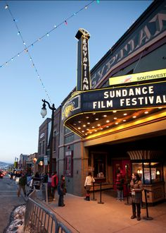 Egyptian Theatre, Downtown Park City, Upper Main Strett, sundance film festival by stotia images