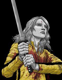 Kill Bill - The Bride by False Positive *
