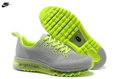 reputable site c8d9d 81e65 Nike Air Max mouvement Gris Volt Homme Chaussures de course (P61Chd) France  Outlet Sale