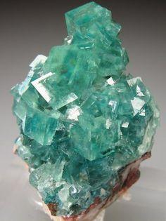 SMITHSONITE (Cuprian)  Tsumeb Mine, Tsumeb, Otjikoto Region, Namibia, Africa Size: 3.5 x 2 x 1.2 cm (Miniature)