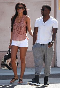 Kevin Hart Shops In Beverly Hills With Girlfriend Eniko Parrish