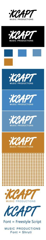 Kcapt Music Productions Logo Design