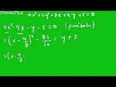 Ecuación general cónicas parte 1