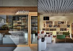 Enolora wine shop by act   romegialli, Chiuro - Italy