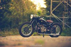 Ottonero Cafe Racer: Marlon moto / Chang Jiang 750 - CJ750