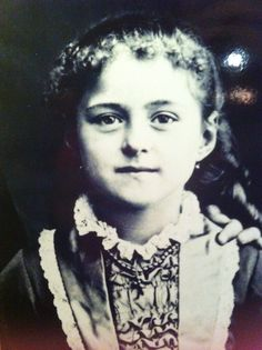 St Therese as a little girl