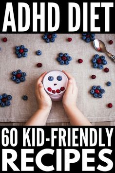ADHD Diet for Kids If youre looking for natural treatments to help decrease the symptoms of attention deficit hyperactivity disorder in children taking stock of the food. Brain Connections, Gut Brain, Adhd Brain, Adhd Diet, Autism Diet, Adhd Strategies, Cure Diabetes, Diabetes Remedies, Diabetes Diet