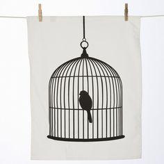 theedoek birdcage van ferm living