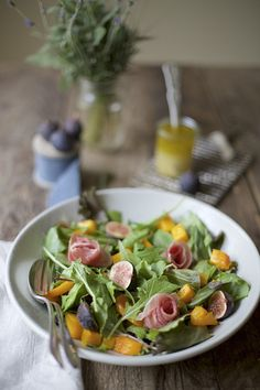 Christmas recipes: Fresh Fig and Butternut Squash Salad