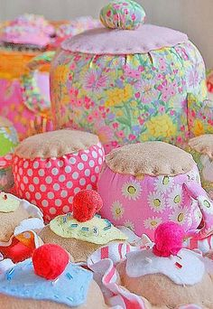 sewing party... by rose hip..., via Flickr