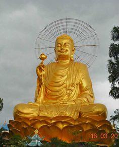Pagoda Buddha, Dalat, Vietnam