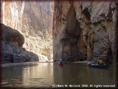 Upper Canyons of the Rio Grande river  (part of big bend national park)    Santa Elena Canyon