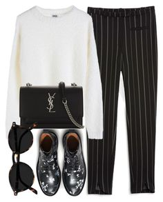"""Untitled #7003"" by laurenmboot ❤ liked on Polyvore featuring Monki, MTWTFSS Weekday and Yves Saint Laurent"