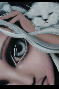 Big Eye art by Angelina Wrona Anime Fantasy, Fantasy Art, John Kenn, Doll Painting, Painting People, Lowbrow Art, Pop Surrealism, Eye Art, Art Journal Inspiration