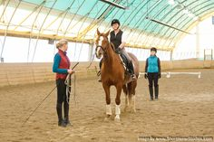 USDF Instructor Certification Workshop on Lunging the Horse and Rider - Image courtesy of ShortHorse Studios