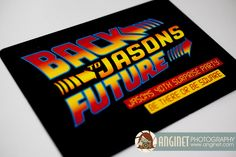 "THIS IS AMAZING!!! - ""Back to Jason's Future"" – 40th Surprise Party - Lots of fun ideas for your Back to the Future Party!"