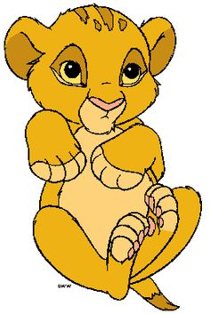 possible next tattoo for Hunter, but itll have him layin in a leaf. Lion King Simba's Pride, Lion King 1, Disney Lion King, Simba Bebe, Simba Lion, Baby Simba, Lion King Baby Shower, Lion King Party, Lion King Birthday