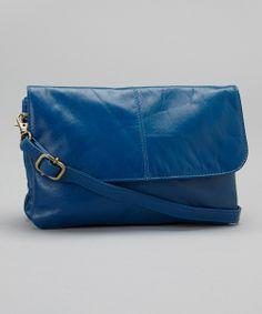 Blue Lidia Crossbody Bag