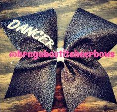 Dancer cheer bow