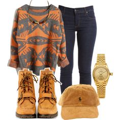 A fashion look from April 2013 featuring Cheap Monday jeans, Polo Ralph Lauren boots and Rolex jewelry. Browse and shop related looks.