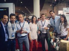 @mezcalmdt moments at #alimentariabcn with nice visitors #mezcal #mieldetierra #mdt #mexico #agave #honey #barcelona #alimentaria #gourmet #foodie #drink #luxury #hostess #brandambassador #zacateca by elizabeth.arnau April 26 2016 at 01:51PM
