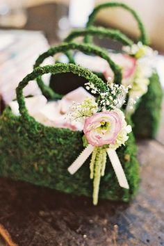 Moss Wedding Decoration Ideas