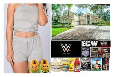 """Going Down Memory Lane (WWE Network Style)"" by xxxladiidxxx ❤ liked on Polyvore featuring Forever 21, WWE, Gatorade, Belk & Co., Kobelli and BERRICLE"