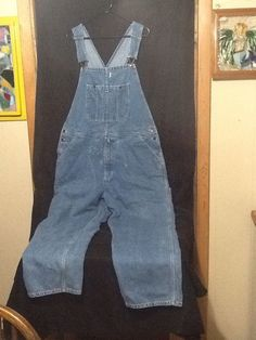 mens XL overalls Austin Clothing Co. blue jean Vintage 38 x 30 Clothing Co, Jeans For Sale, Mens Xl, Overall Shorts, Blue Jeans, Overalls, Pants, Clothes, Women