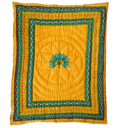 quilted baby blankets from india via baby baazaar - Patere Colore