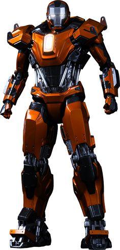 Hot Toys Iron Man Mark XXXVI - Peacemaker Sixth Scale Figure