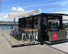 Another sea container Cafe.